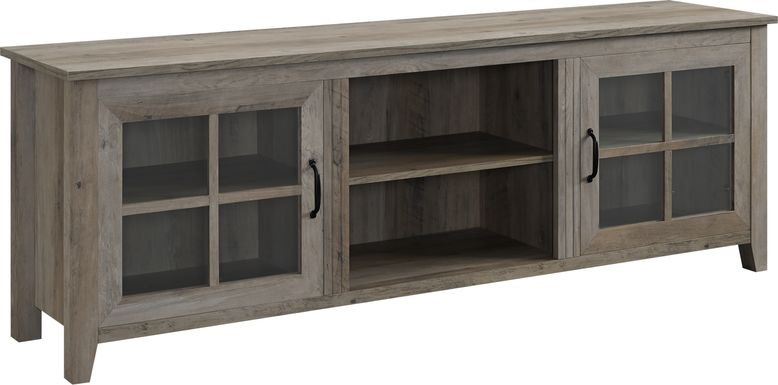 Ayllon Gray 70 in. Console