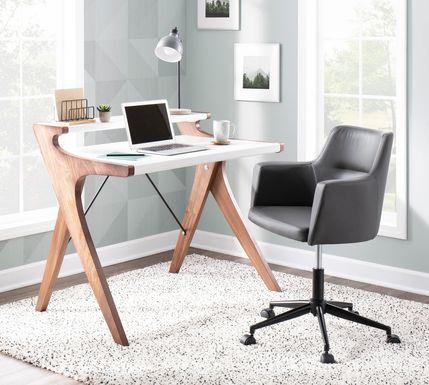 Amasia White Desk