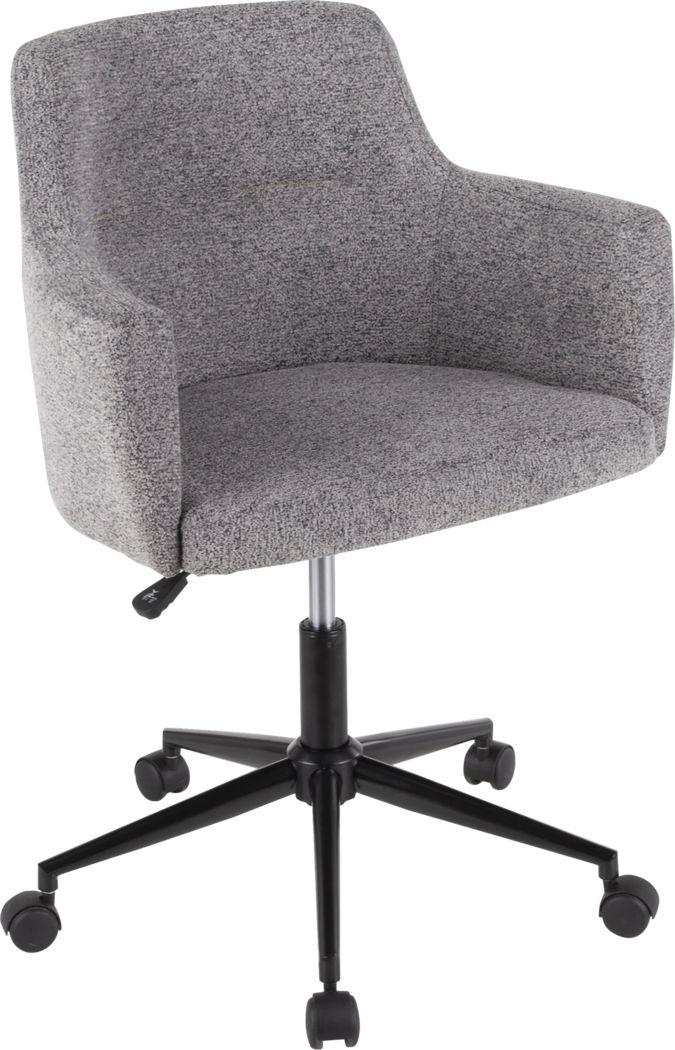 Aymard Gray Office Chair