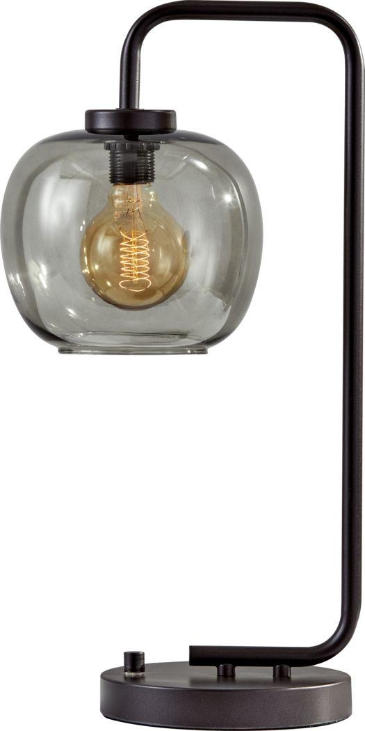 Aynlee Black 10.5 in. Lamp