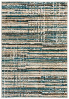 Azmer 8' x 10' Blue Rug