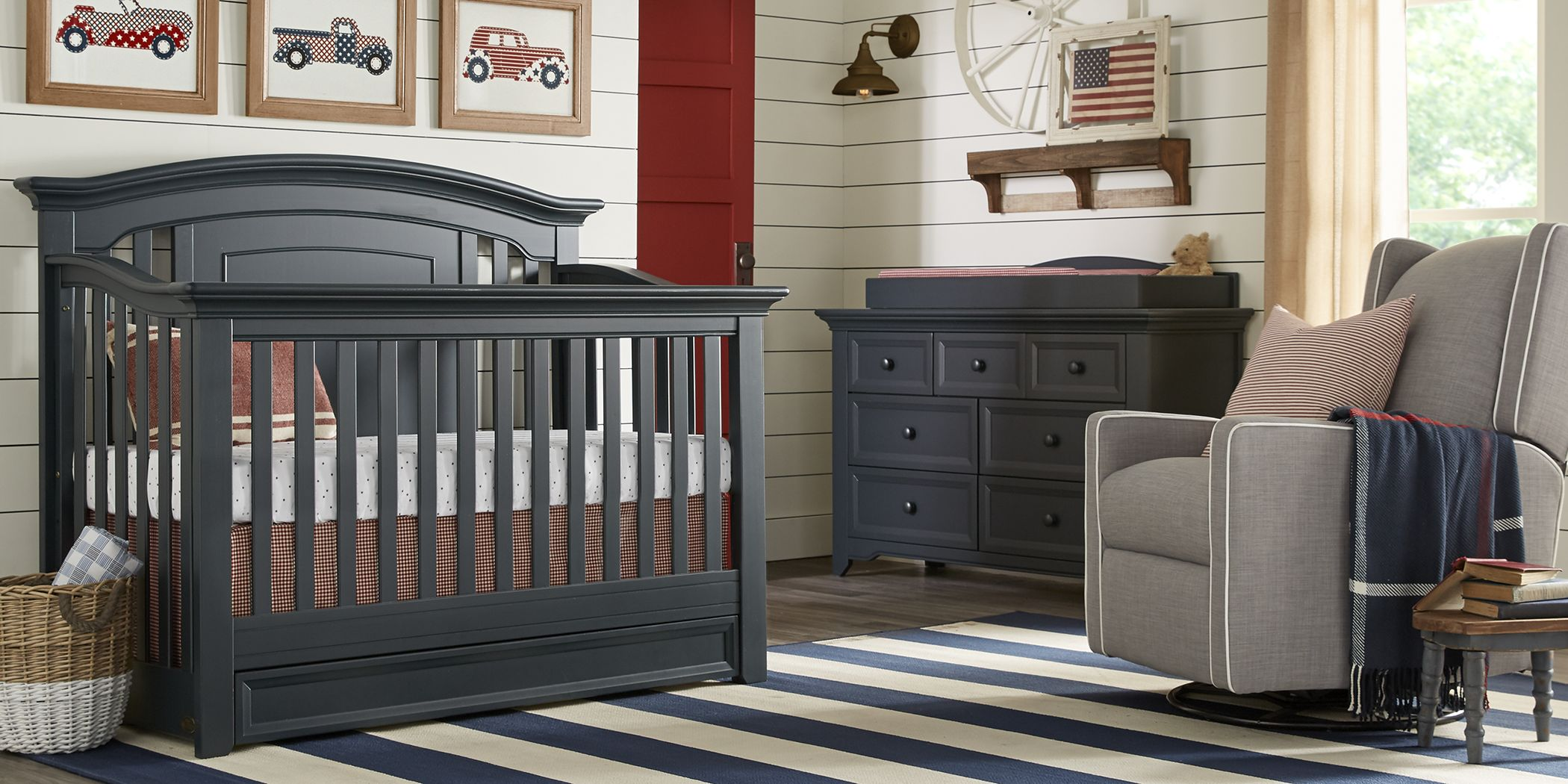 baby-cache-harborbridge-navy-6-pc-nursery-with-toddler-and-conversion-rails