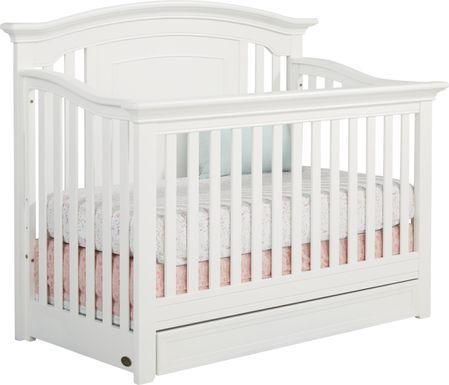 Baby Cache Harborbridge White Crib