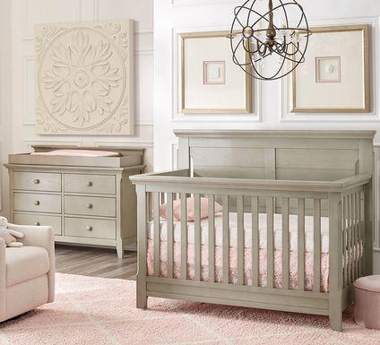 Baby Cache Overland Point Gray 4 Pc Nursery