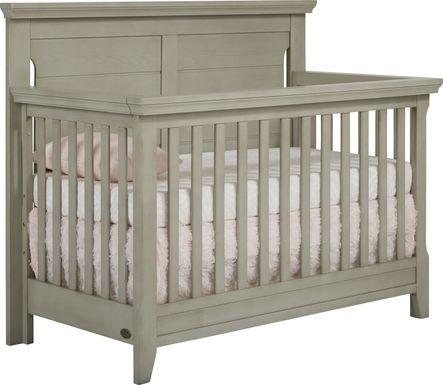Baby Cache Overland Point Gray Crib