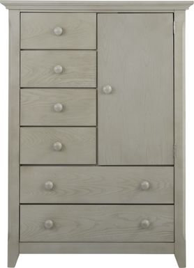 Baby Cache Overland Point Gray Door Chest