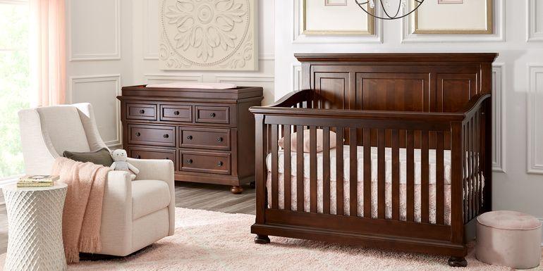 Baby Cache Prestcott Rosewood 4 Pc Nursery