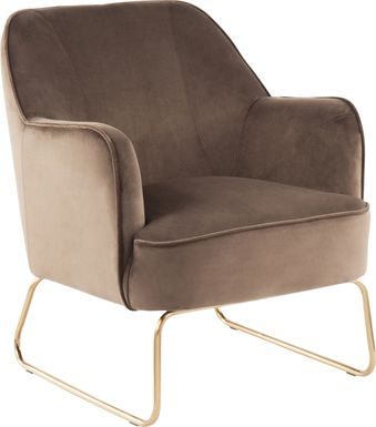 Balard Brown Accent Chair