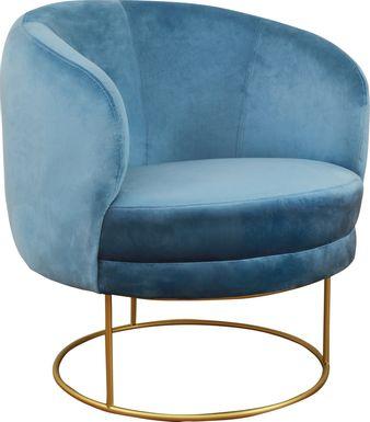 Balleigh Blue Accent Chair