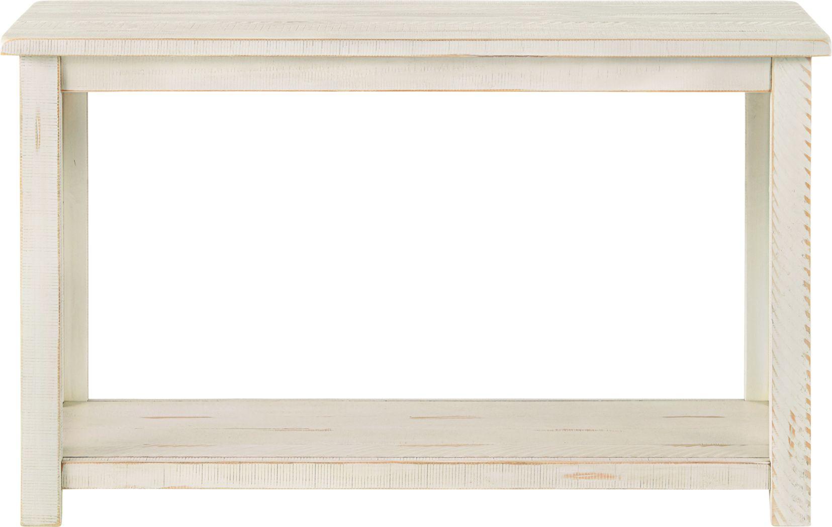 Baltazar White Sofa Table