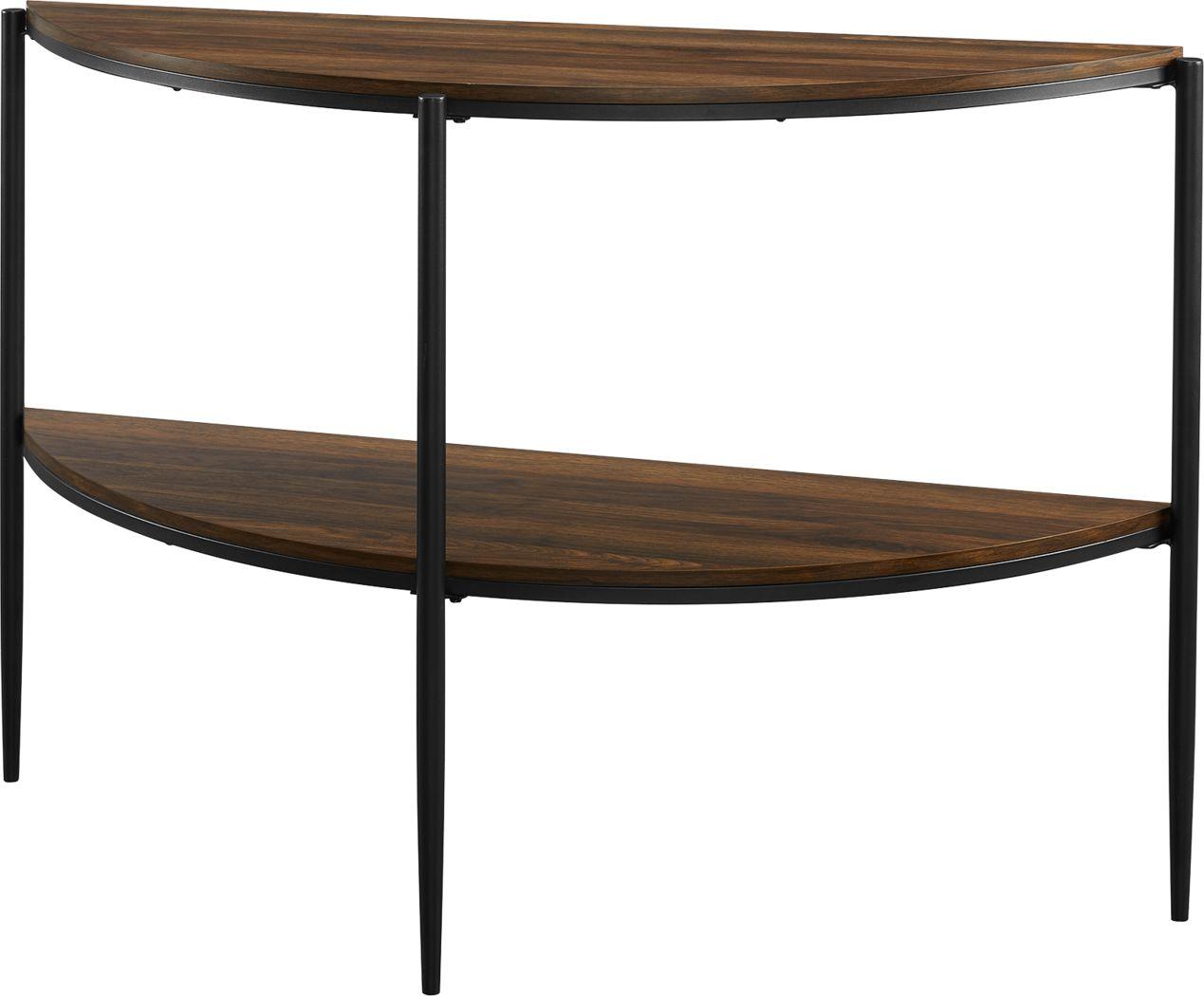 Baluster Walnut Sofa Table