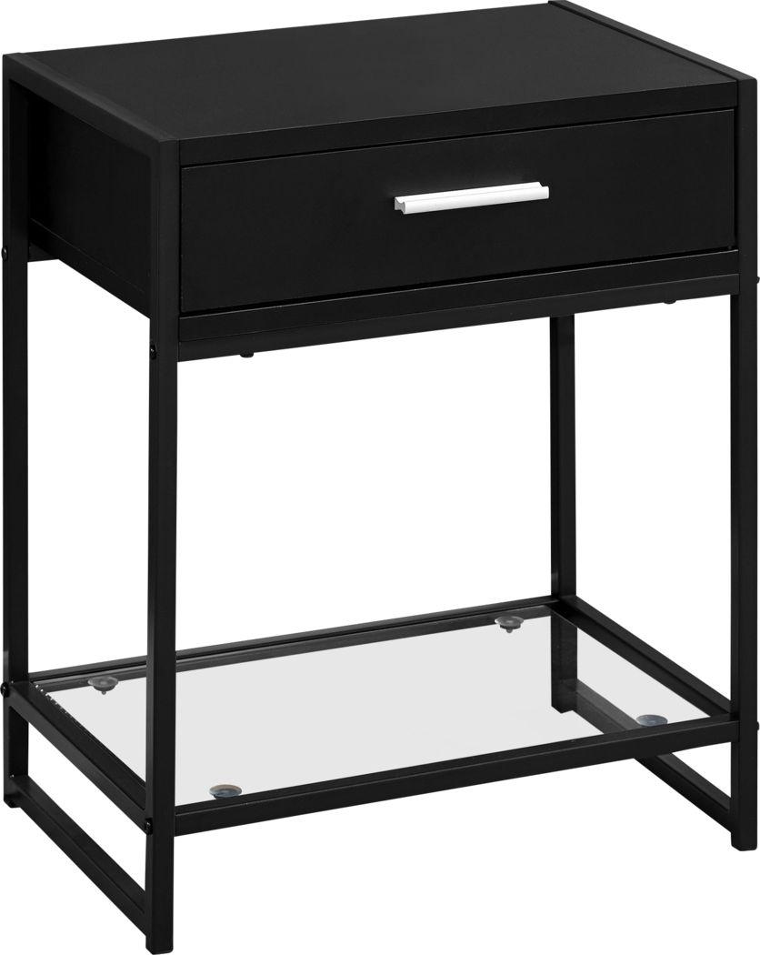 Bandiwood Black Accent Table