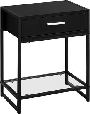Bandiwood Black Accent Table
