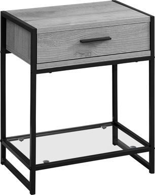 Bandiwood Gray Accent Table