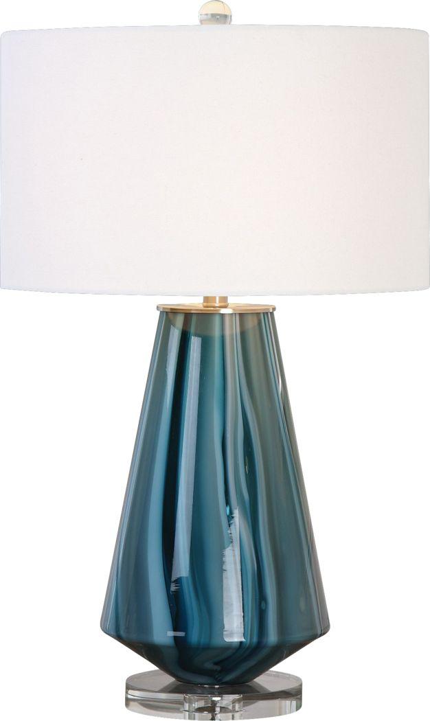 Bannington Blue Lamp
