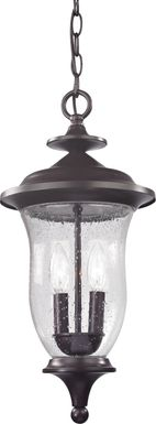 Bannington Brown Outdoor Chandelier