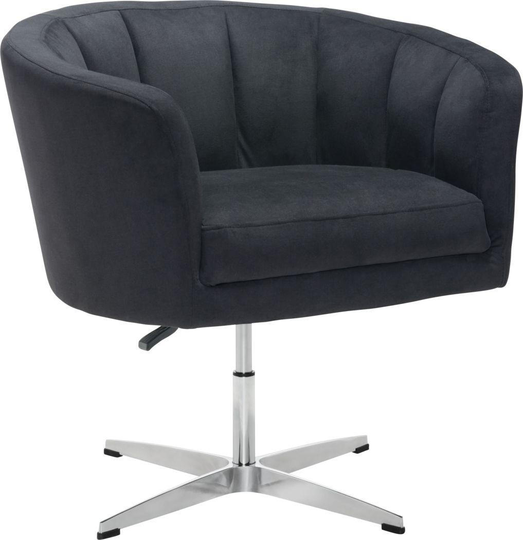 Banoffee Black Office Chair