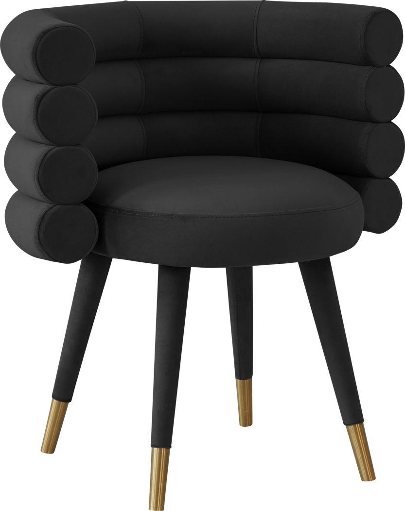 Barberry Black Arm Chair