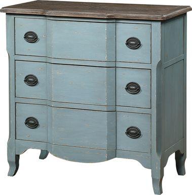Barberton Blue Accent Cabinet