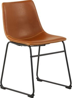Barcroft Brown Side Chair