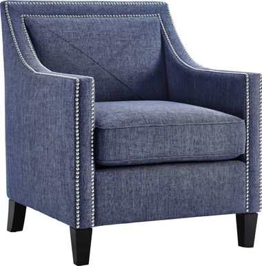 Bardstown Blue Accent Chair
