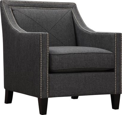 Bardstown Graphite Accent Chair