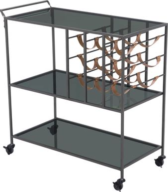 Bardzo Black Bar Cart