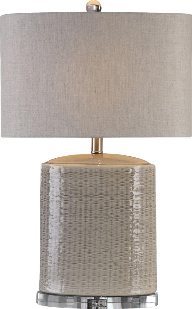 Barkington Gray Lamp