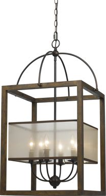 Barlin Brown Chandelier