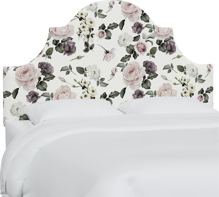 Barn Chic Cream Queen Upholstered Headboard