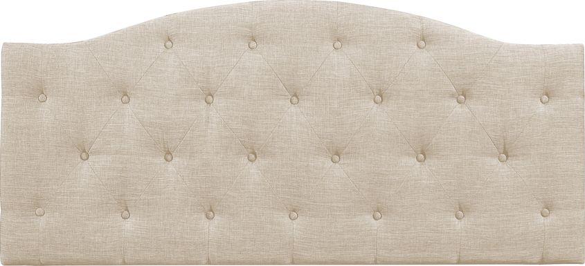 Barnsdale Beige Full/Queen Upholstered Headboard
