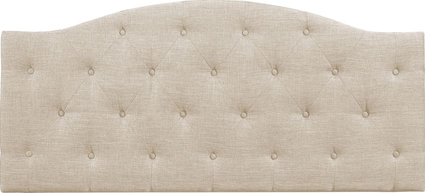 Barnsdale Beige King Upholstered Headboard