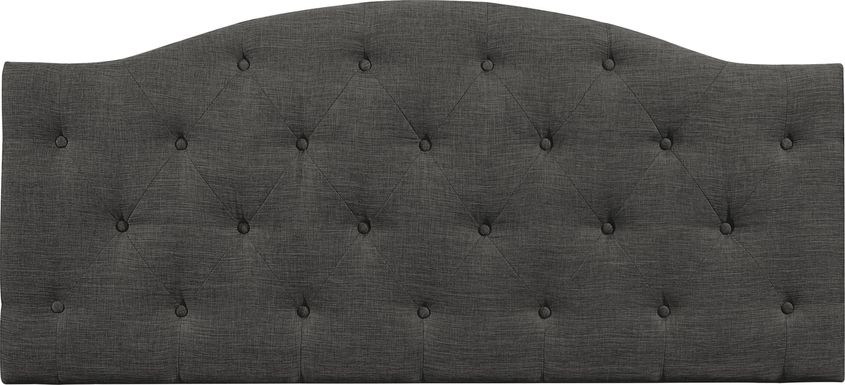 Barnsdale Dark Gray Twin Upholstered Headboard