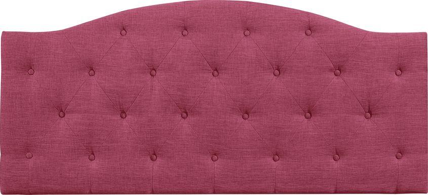 Barnsdale Pink King Upholstered Headboard
