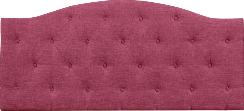 Barnsdale Pink Twin Upholstered Headboard