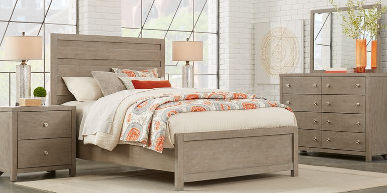 Barringer Place Gray 5 Pc Queen Panel Bedroom