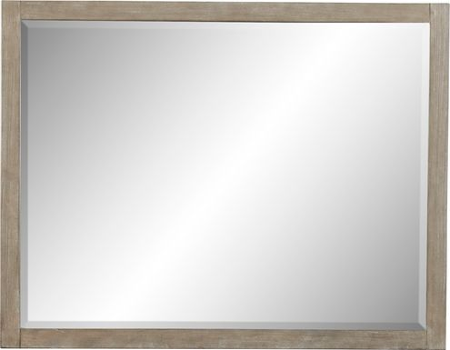 Barringer Place Gray Mirror