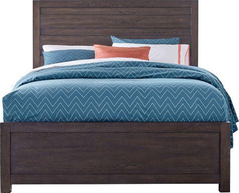 Barringer Place Merlot 3 Pc King Panel Bed