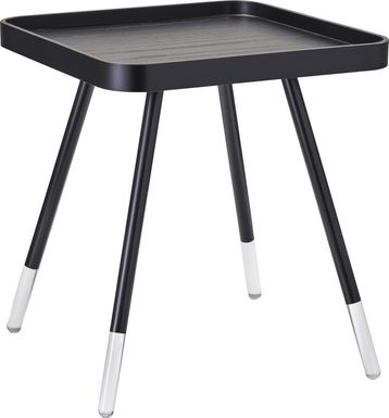 Bartine Black End Table