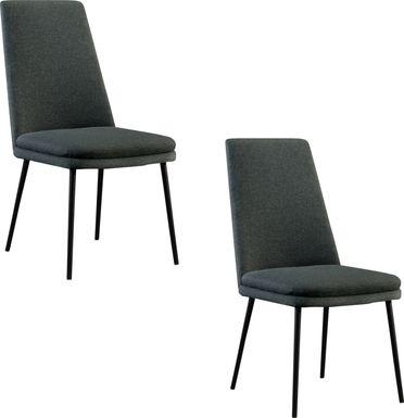 Bauerlien Gray Side Chair, Set of 2