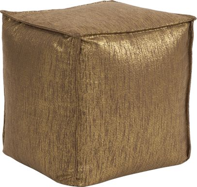 Bauman Brown Pouf