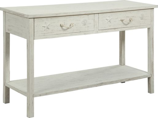 Bay Life White Accent Table
