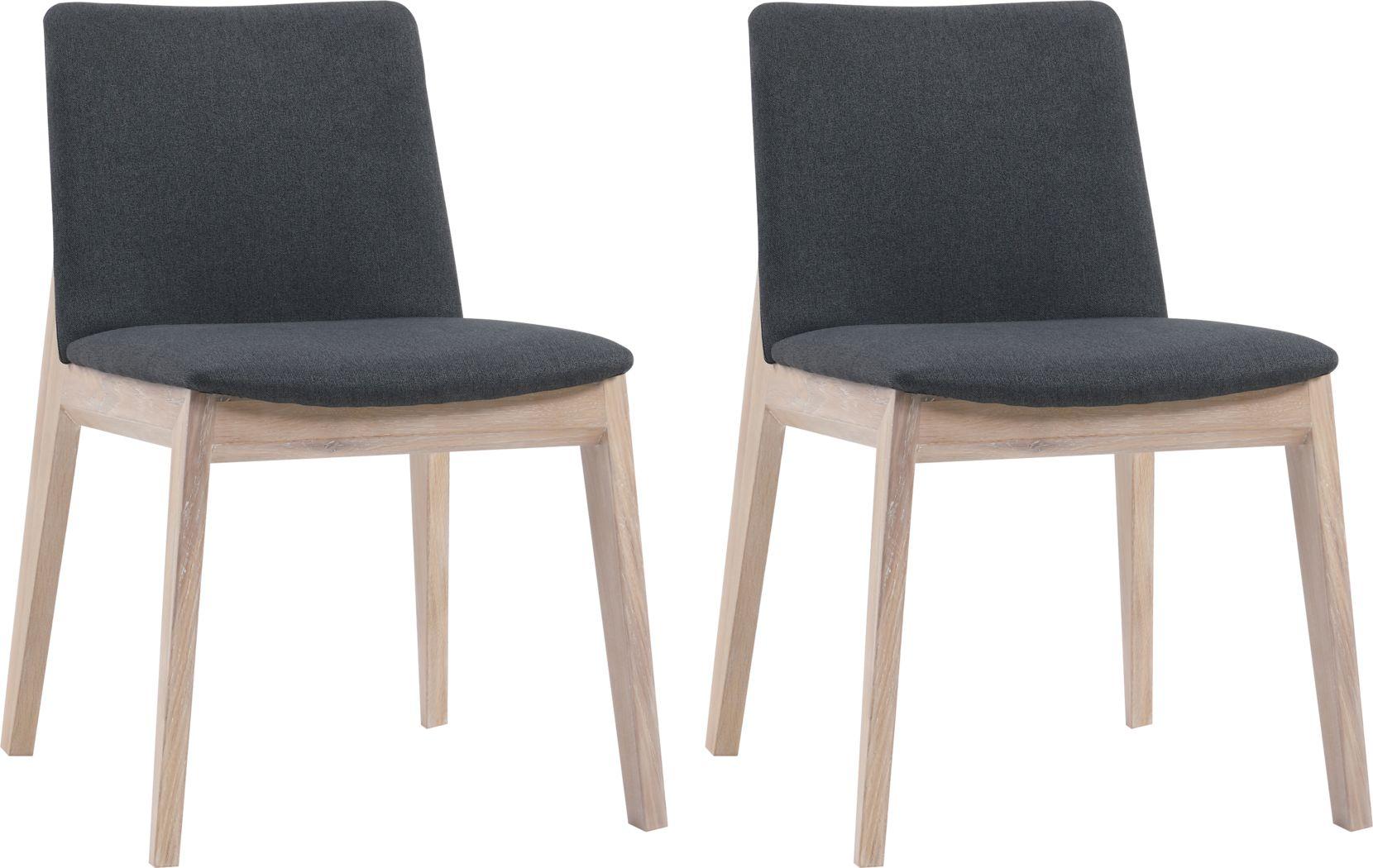 Bayard Way Charcoal Dining Chair, Set of 2