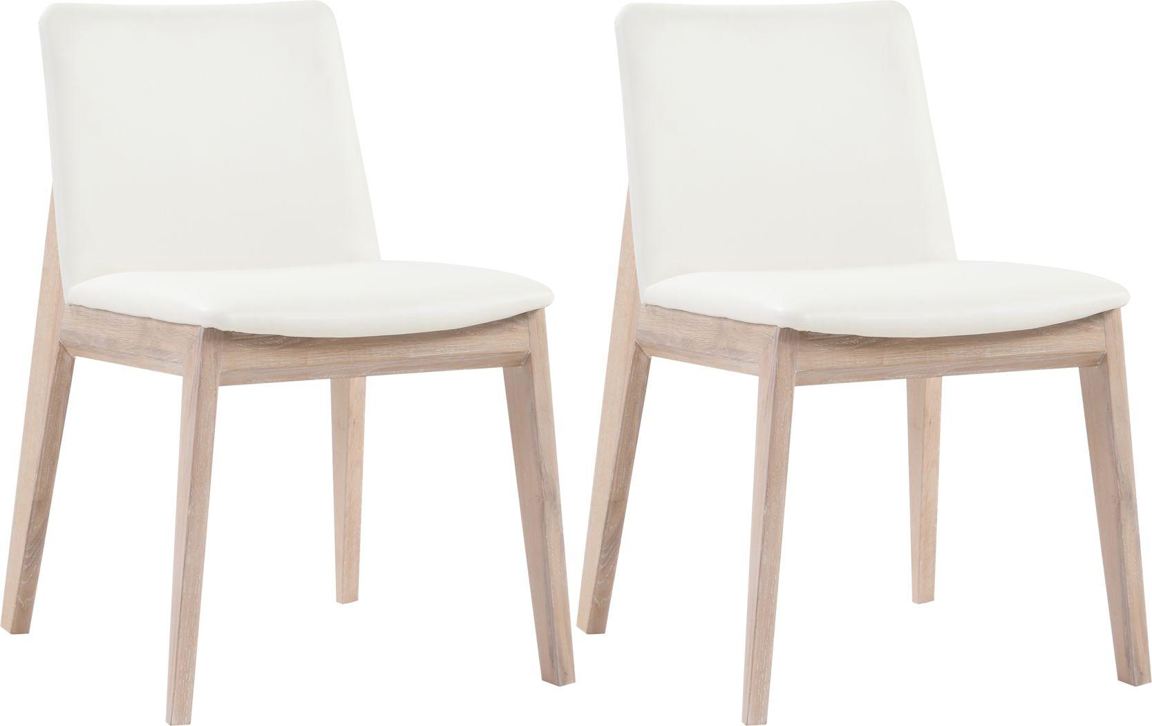 Bayard Way White Dining Chair, Set of 2