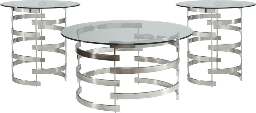 Baylor Metal 3 Pc Table Set