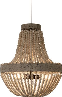 Baytree Gray Chandelier