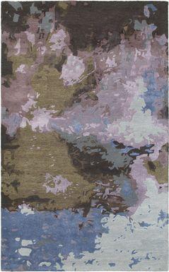 Bazely Blue 5' x 8' Rug