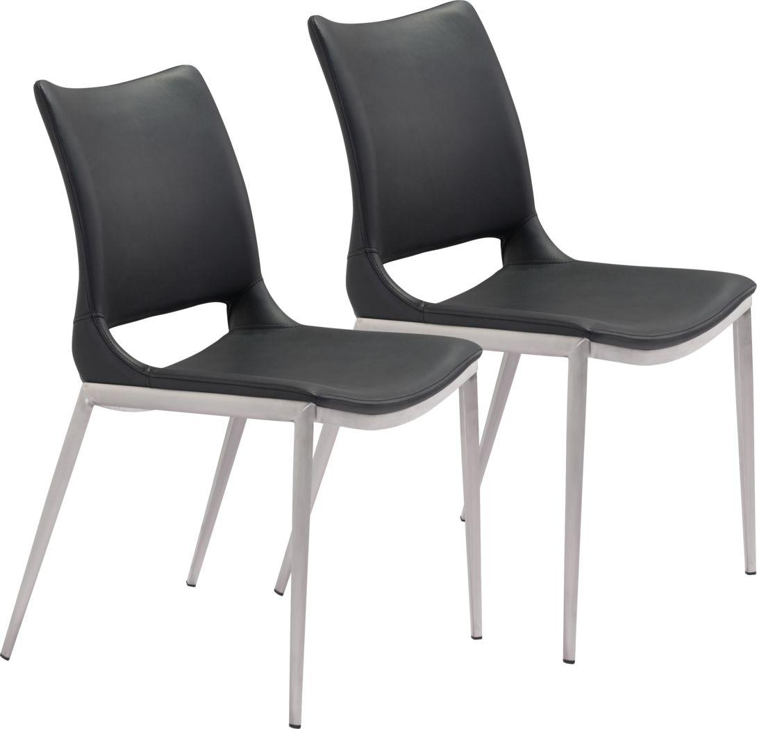 Beacher Black Side Chair, Set of 2