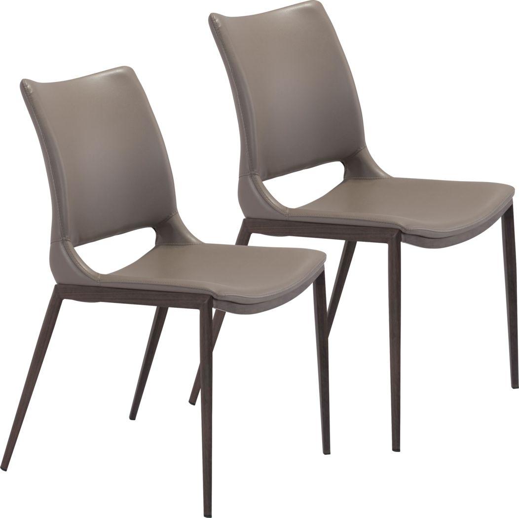 Beacher Gray Side Chair, Set of 2