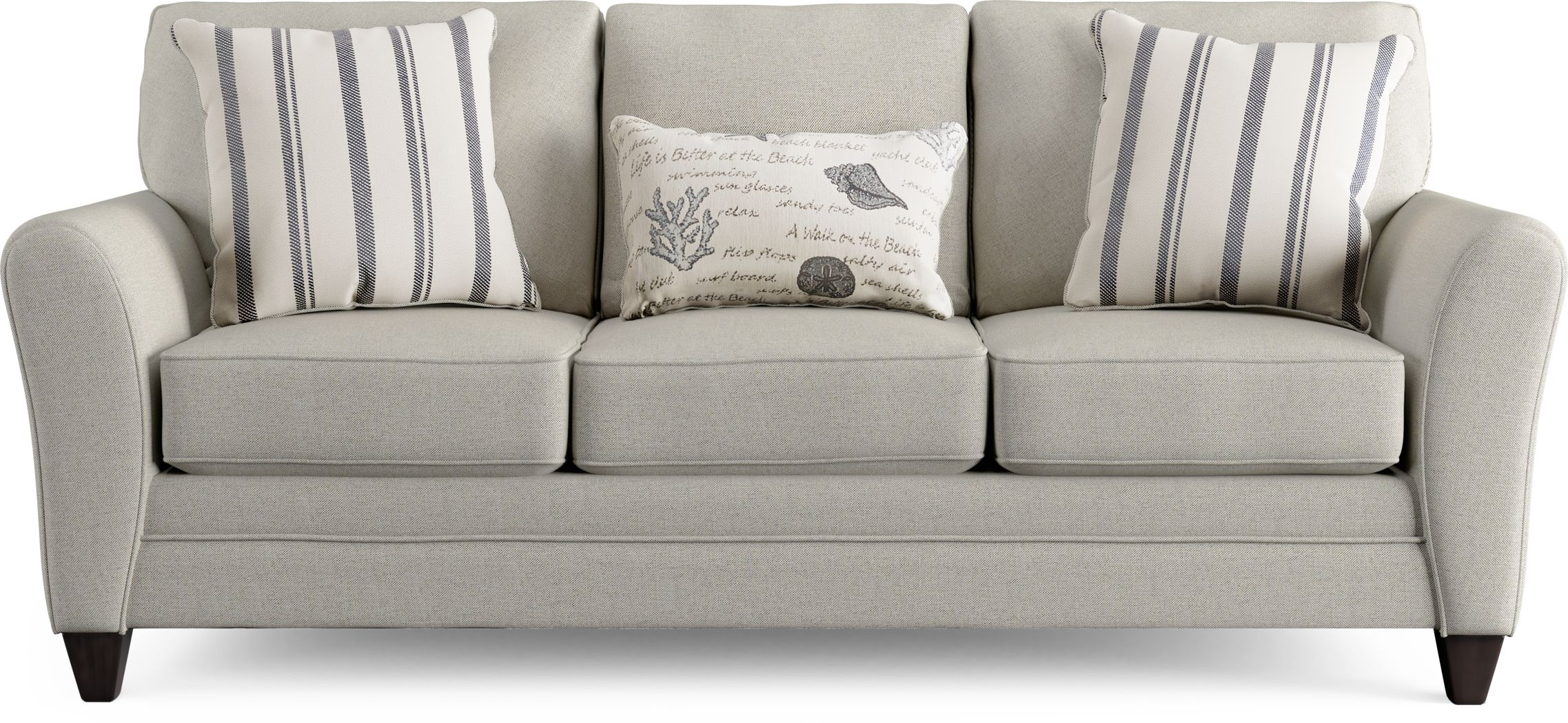 Beachfront Silver Sofa